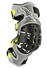 ALPINESTARS BIONIC 7 KNEE SET SILVER/YELLOW XL 482-62503X