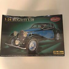 Heller 1/24 Bugatti T.50 Model Kit 158 pcs made In France