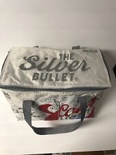 Coors Light The Silver Bullet Insulated Cooler Travel Bag-36 Pack-12oz Can Empty