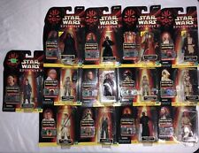 Star Wars Episode 1 Comm Tech Action Figures, Very Rare, all NIB Lot of 29