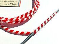 """gaine de frein vintage """"Le Bicolore"""" 200 mobylette vespa solex vélo cable wrap"""
