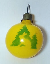 New ListingVintage Christmas ornaments Ball Hare Soviet glass New Year's toy Ussr