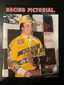 Racing Pictorial Magazine 1986 Spring Michael Andretti Cover