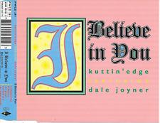 KUTTIN' EDGE - I believe in you CDM 5TR Eurodance 1994 (PWL) Stock & Waterman
