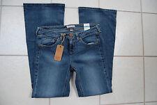 NWT Blue TOMMY HILFIGER TOMMY JEANS Jive Hip Hugger Flared Leg Stretch Jeans 9