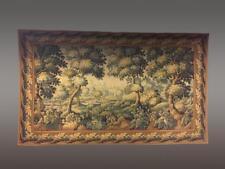 Grande tapisserie mécanique décor paysage à la rivière