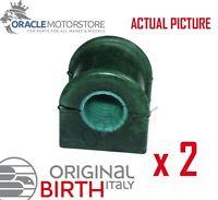 2 x BIRTH FRONT AXLE ANTI ROLL BAR STABILISER BUSH PAIR OE QUALITY - 4771