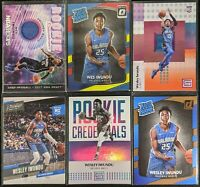 Lot of (6) Wesley Iwundu, Including Rookie jersey, Optic RC, Satus RC & more