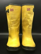 Boss Waterproof Boots Rubber Size 10 Over the Shoe Knee Boots Chore PPE Work