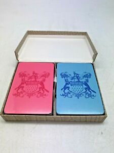 Worshipful company of skinners 2 pack of playing cards. Boxed.  EPP