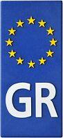 Euro Griechenland GR Europa Relief Emblem Greece Flagge HR 19158 selbstklebend