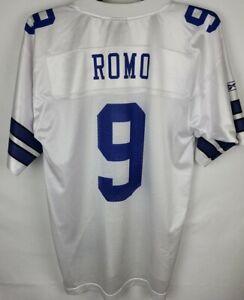 NFL Dallas Cowboys Reebok Tony Romo Medium White On The Field Football Jersey