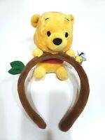 Tokyo Disney Resort Winnie the Pooh Headband Ears Hat Plush Doll Head Band Hair