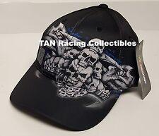Dale Earnhardt Jr Checkered Flag Sports #88 SKULL Hat FREE SHIP!