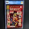AVENGERS ANNUAL #1 💥 CGC 9.0 💥 ORIGINAL & NEW AVENGERS TEAM-UP! King Size 1967