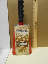 Wembley Limited Edition 12th Man Cowbell Red Cow Bell Black Handle Nip New $32