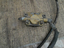 Bremssattel Bremszange hinten Bremsleitung Roller Aprilia SR50 Typ ZD4MZ