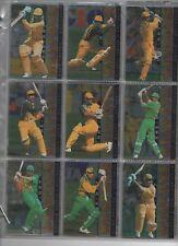 AUSTRALIA Futera ELITE 96 complete set in nine card pages