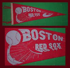 VINTAGE Boston Red Sox Baseball Pennant! 1940's WOW!