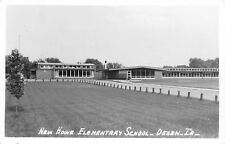 Ogden Iowa~Howe Elementary School~1960s Real Photo Postcard~RPPC