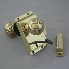 Victorian Rim Lock & Beehive Knobs