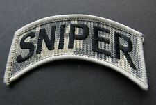 US ARMY SNIPER SPECIAL FORCES CAMO CAMOUFLAGE PATCH 4 X 1.5 INCHES