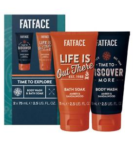 Fatface Men's Time To Explore - Mini Bath Duo