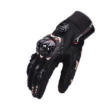 Motorcycle Motorbike Biker Moto Cross Racing Scooter Gloves M-xxl M Black