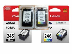 Genuine Canon 245 246 Black/Color Ink Cartridges for MX490 492 TR4520 Printer