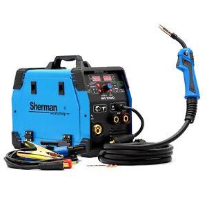 Sherman™ MIG/MAG WIG SYNERGIE 3in1 Inverter Schweißgerät 200A Schweißmaschine