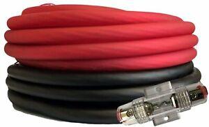 SoundBox Connected 4 Gauge Red / Black Amplifier Amp Power/Ground Wire Set 50 Ft