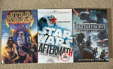 Lot of 3 Star Wars Books - Hardcover