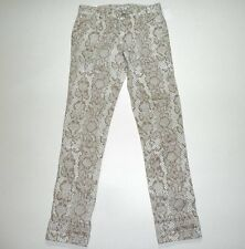 12 GAP KIDS GIRLS * FRENCH MUSE * SNAKESKIN PRINT SKINNY JEANS PANTS NWT $35+