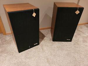 Pair of Original Vintage Pioneer HPM-100 Floor Speakers