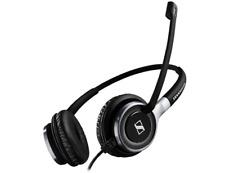 Sennheiser SC 665 USB Binaural Head-band Black Grey headset 507257