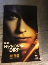 Wynonna Earp SDCC 2018 Poster IDW SYFY VHTF Hell Bent 11x17