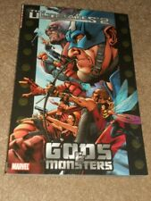 The Ultimates 2 Gods and Monsters Marvel TPB Comic Book NICE