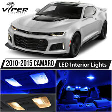 2010-2015 Chevy Camaro Blue LED Interior Lights Package Kit
