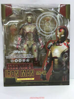 S.H. Figuarts SHF Iron Man MK43 Red & MK42 Gold Action Figures IN BOX Hot