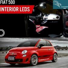 KIT FULL LED INTERIOR INTERNI COMPLETO FIAT 500 PLAFONIERA + BAGAGLIAIO 6000K