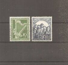 TIMBRE ALLEMAGNE BERLIN 1950 N°58/59 OBLITERE USED