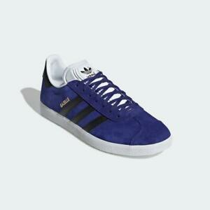 Adidas Gazelle Trainers Purple Black White Authentic Brand New