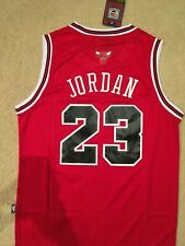 Throwback Swingman Men's Basketball Jersey MICHAEL JORDAN 23 Chicago Bulls Red