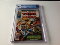 MARVEL TWO IN ONE 27 CGC 9.6 WHITE PAGES DEATHLOK THING JACK KIRBY MARVEL COMICS