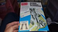 Peco IN-1 - N Gauge Setrack Track Plans Catalogue Latest Edition