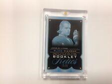 2015-16 black diamond hockey JACOB DE LA ROSE rookie auto patch booklet 12/25