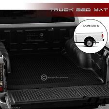 FOR 1993-2011 FORD RANGER/1994+ B-SERIES 6' BLACK RUBBER TRUCK BED RUG FLOOR MAT