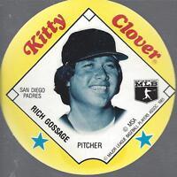 1985 Kitty Clover Discs Baseball Card Pick