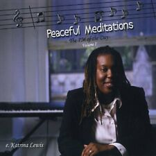 E Katrina Lewis-`Peaceful Meditations (The Pm of the Day), V (US IMPORT) CD NEW