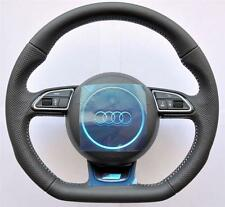 Audi S Line A4 A5 Q5 Q7 A3 A6 A8 TT R8 Flat Bottom multifunction steering wheel
